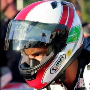Totti alla partenza del Manx GP 2012