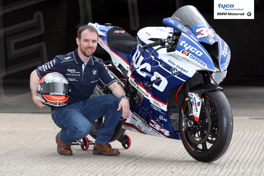 PACEMAKER, BELFAST, 15/3/2017:  Alastair Seeley, the all-time record holder of the Vauxhall International North West 200 with 17 victories, confirmed at the event launch in Coleraine today that he will race a Tyco BMW Superbike at the May 7-13 races. PICTURE BY STEPHEN DAVISON